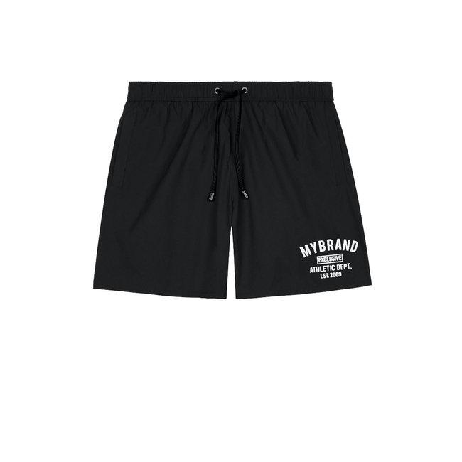 My Brand MB Basic Varsity Swimshort Black