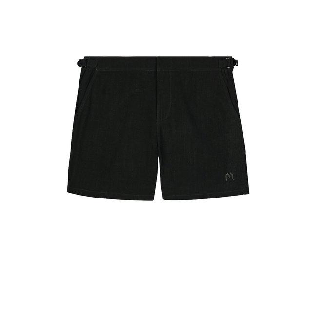 My Brand MB Linen Chino Short Black