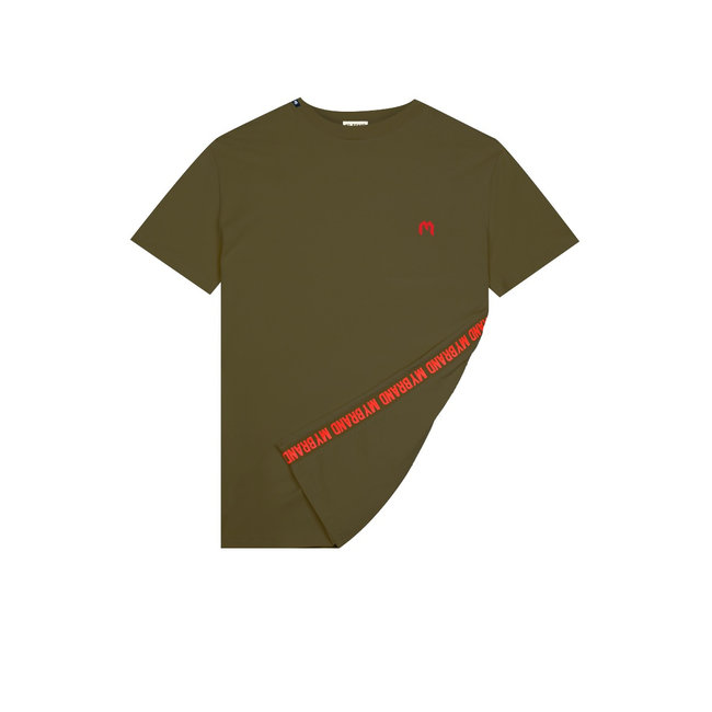 My Brand MB Tape T-shirt Army Green