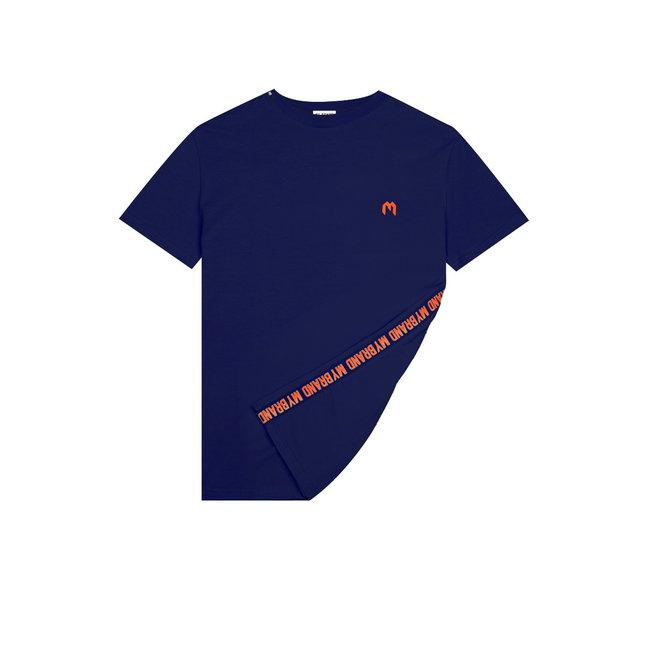 My Brand MB Tape T-shirt Navy