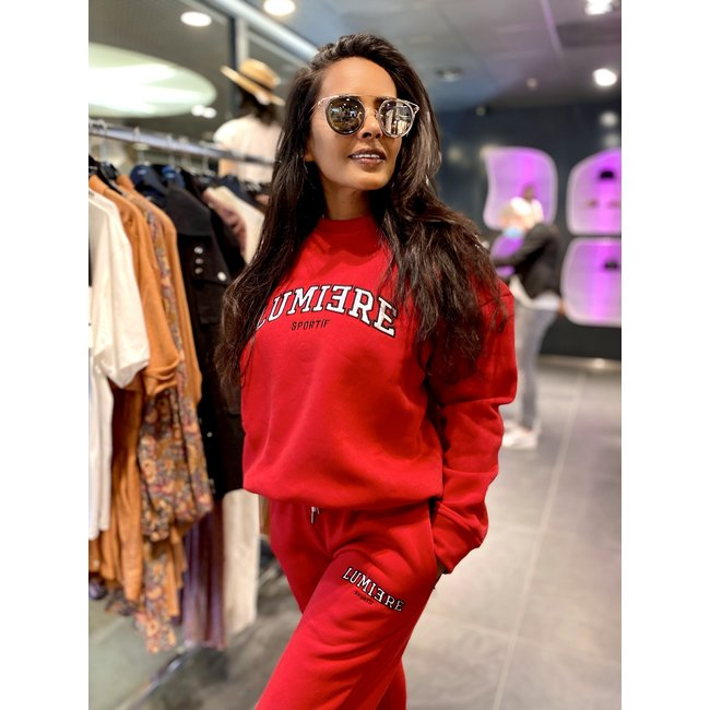 Lumiere TRACKSUIT NANTES RED (2-DELIG)