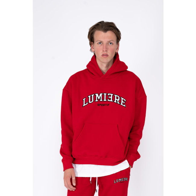 Lumiere TRACKSUIT GRENOBLE RED  (2-DELIG)