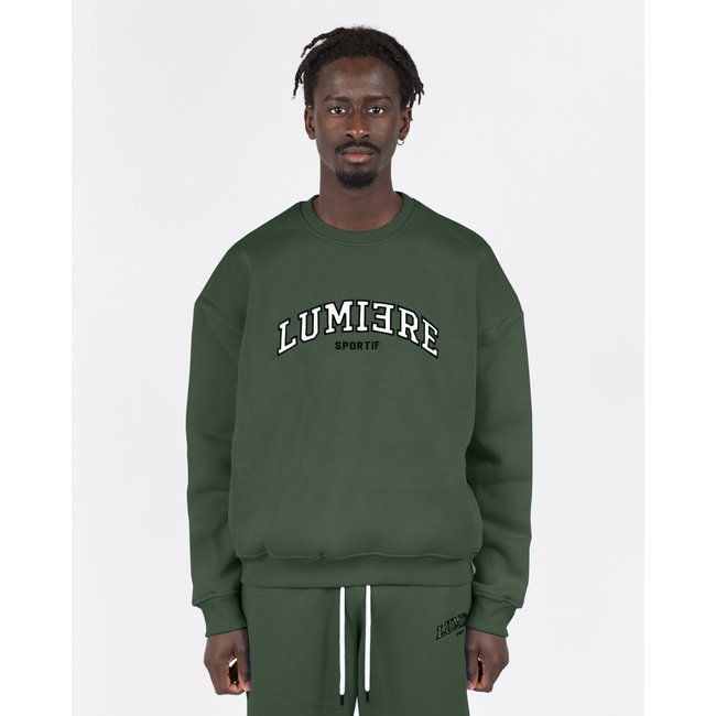 Lumiere TRACKSUIT NANTES ARMY GREEN (2-DELIG)