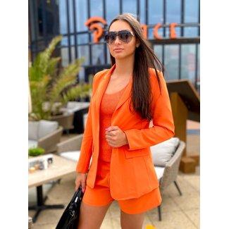 MOMO Fashion Bellissimo Blazer Orange