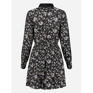 Nikkie TAPE FLOWER DRESS N5-280 2105 BLACK