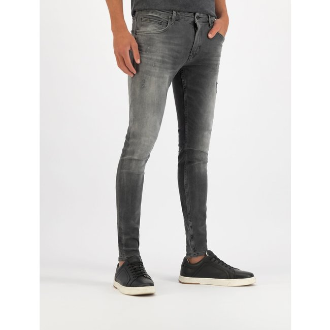 Pure White THE DYLAN JEANS W0708 DENIM MID GREY
