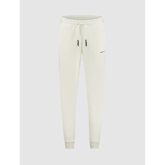 Pure White JOGGING PANT 21040504 OFF WHITE