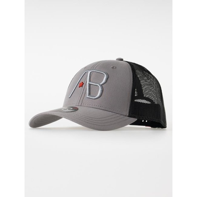 AB Lifestyle RETRO TRUCKER CAP BLACK/ GREY