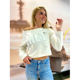 Met jeans SWEATER M3-EITHY OFF WHITE