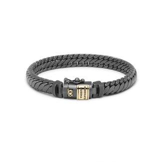 Buddha to Buddha J070BRG - Ben XS Bracelet Black Rhodium GOLD
