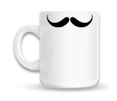 Moustache - Mok