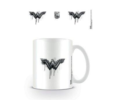 Justice League Movie Wonder Woman Logo Drip Mok