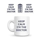 Doctor Who Keep Calm I'm The Doctor - Mok