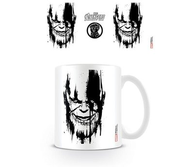 Avengers Infinity War Thanos Stencil Drip Mok