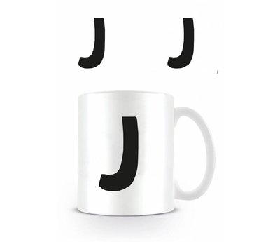 Alfabet mok letter J
