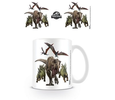 Jurassic World Fallen Kingdom Dino Rampage Mok