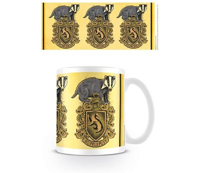 Harry Potter Hufflepuff Badger Crest Mok