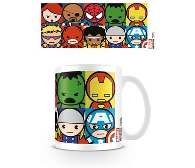 Marvel Kawaii Karakters - Mok