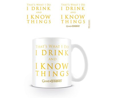 Game Of Thrones Drink And Know Things Mok