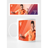 KNVB Leeuwinnen #7 Van De Sanden - Mok