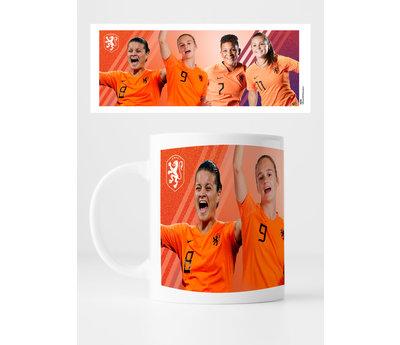 KNVB Leeuwinnen Groep - Mok
