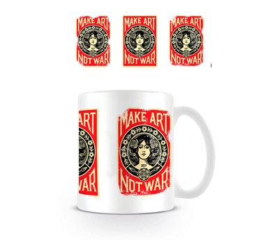 Make Art Not War 3 Posters - Mok