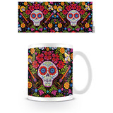 Coco Embroidered Skull Mok