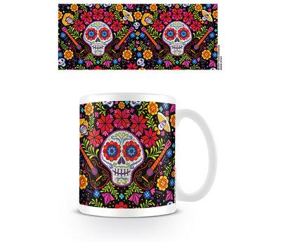 Coco Embroidered Skull Mok