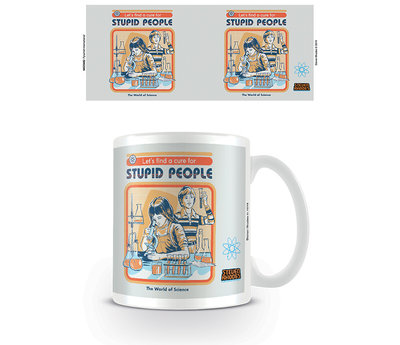Steven Rhodes Let's Find A Cure For Stupid People Mok