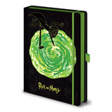 Rick and Morty Portal A5 Premium Notitieboek