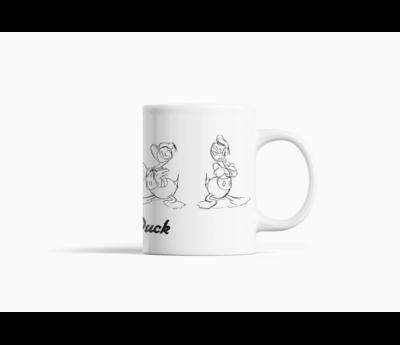 Donald Duck Sketch Mok