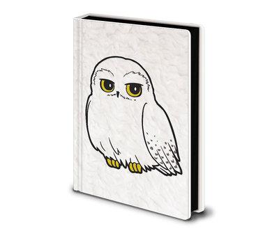 Harry Potter Hedwig Fluffy Premium A5 Notitieboek