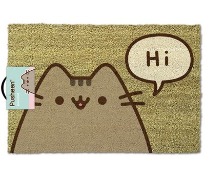 Pusheen Says Hi Deurmat