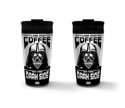 Star Wars I Like My Coffee On The Dark Side Metal Travel Mug