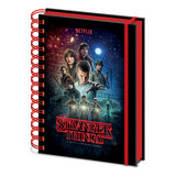 Stranger Things Seasone One A5 Notitieboek