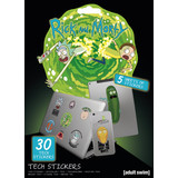 Rick And Morty Tech Stickerset