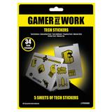 Gamer At Work Tech Stickerset