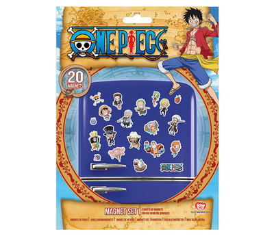 One Piece Chibi Magneet Set