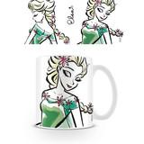 Frozen Elsa Illustration Mok