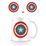Marvel Comics Captain America Shield Mok