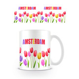 Amsterdam Tulpen Mok
