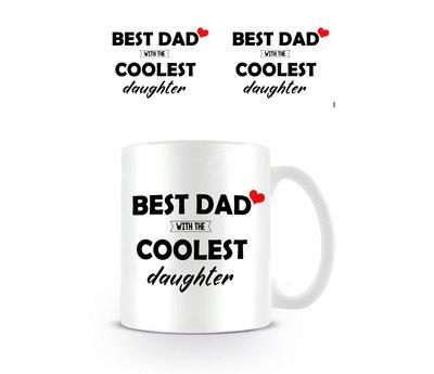 Best Dad Coolest Daughter Mok