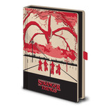 Stranger Things Mind Flayer Light Up Premium A5 Notitieboek