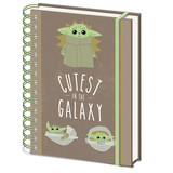 Star Wars The Mandalorian The Child The Cutest In the Galaxy A5 Notitieboek
