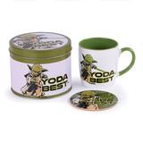 Star Wars Yoda Best Metalen Blik Geschenkset
