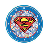 Superman Logo Wandklok