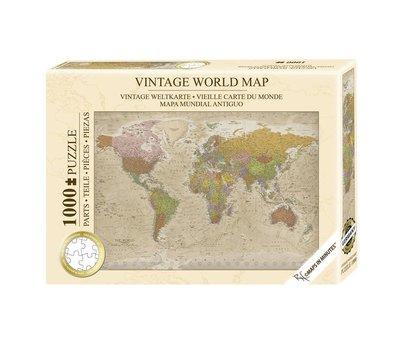 Vintage World Premium Puzzel 1000 Stukjes