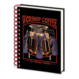 Steven Rhodes Worship Coffee A5 Notitieboek