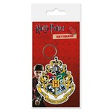Harry Potter Hogwarts Crest - Rubberen Sleutelhanger