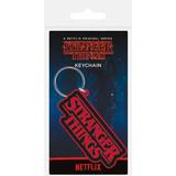 Stranger Things Logo - Rubberen Sleutelhanger